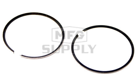 R09-689-1-W1 - OEM Style Piston Rings. John Deere 440cc twin Kawasaki engine. .010 oversized.
