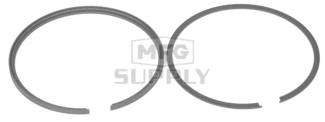 R09-701 - OEM Style Piston Rings, 72-76 Polaris 340 twin and 500 triple. Std size.