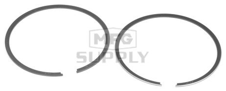 R09-721 - OEM Style Piston Rings for 98-01 Polaris 593 twin. Std size.