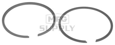 R09-759 - OEM Style Piston Rings. 74-79 Ski-Doo & Moto-Ski 440 twin. Std size.