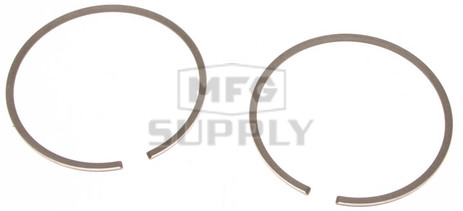 R09-807-2 - OEM Style Piston Rings, 80-85 Yamaha SS440. Twin Cylinder. .020 oversized.