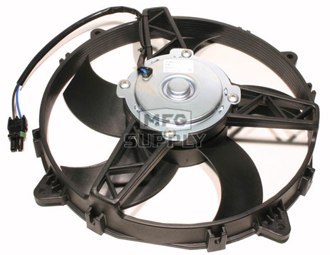 "RFM0006 - Polaris ATV 11"" Cooling Fan Motor Assembly, 03-newer Ranger & Sportsman ATVs"