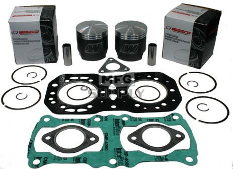 SK1065 - +020 Polaris Piston Kit. 89-97 Liquid Cooled 500 EC45PL097 engine.