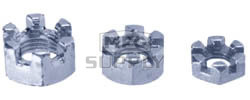AZ8521 - 5/8-18 Slotted Hex Nuts