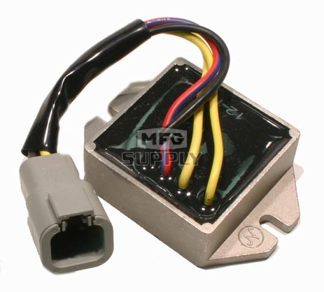SM-01140 - Ski-Doo Snowmobile Voltage Regulator, replaces 515176189. For electric start models.