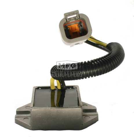 SM-01143 - Ski-Doo Snowmobile Voltage Regulator, replaces 515176188. For manual start 550F models.