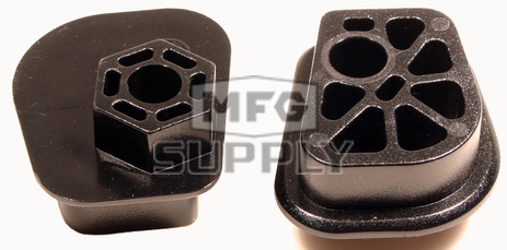 SM-04108S - Ski-Doo Spring Adjustment Block (Pair). Fits most 03-07 Snowmobiles.