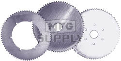 "AZ2155 - Economy Steel Sprockets 60 Teeth, 1.375 Bore, 6 Holes. 3.25"" bolt circle."