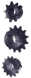 "AZ2115 - ""B"" Type Sprocket for #35 Chain, No Set Screw, 8 Tooth"