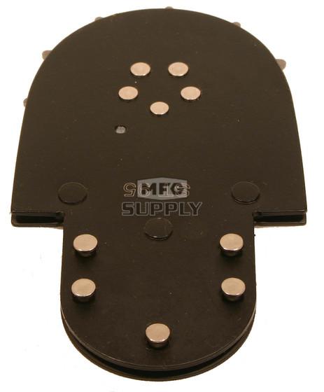 STA-375 - Windsor Sprocket Tip. 3/8 pitch. Short body, 5 rivets, new style.