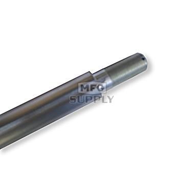 """AZ1401-38 - 38"""" Standard Solid Steel Axle Std End, 1"""" dia"""