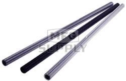 "AZ1432-24 - Silver Anodized Aluminum Tubular Axles 24"" Length, .195 wall, 1-1/4"" dia"