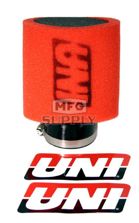 "UP4152AST - Uni-Filter Dual Layer Pod Filter. 1-1/2"" ID, 3-1/2"" OD."