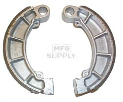 VB-157 - Honda Rear ATV Brake Shoes. TRX350, TRX400, TRX450