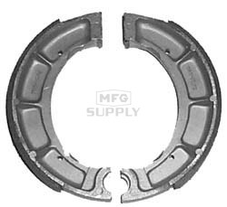 VB-220-H2 - Yamaha Rear ATV Brake Shoes. Timberwolf, Beartracker