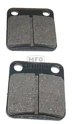VD-127-H8 - Yamaha Front ATV Brake Pads. Warrior, Banshee, Grizzly, Raptor
