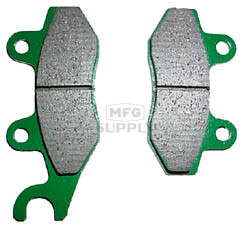 VD-340 - Kawasaki Front Right ATV Brake Pads. KLF300 Bayou, KLF400 Bayou
