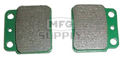VD-341 - Kawasaki Rear ATV Brake Pads. 03-04 KSF400 KFX
