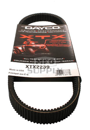 XTX2239 - Polaris Dayco XTX (Xtreme Torque) Belt. Fits 07 & newer models, replaces 3211113.