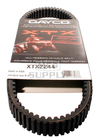 XTX2244 - Polaris Dayco  XTX (Xtreme Torque) Belt. Fits 09 and newer 850cc models.