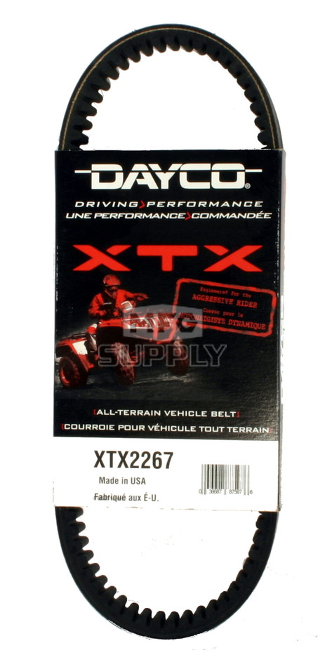 XTX2267 - Polaris Dayco  XTX (Xtreme Torque) Belt. Fits 2013-14 Sportsman 550 models