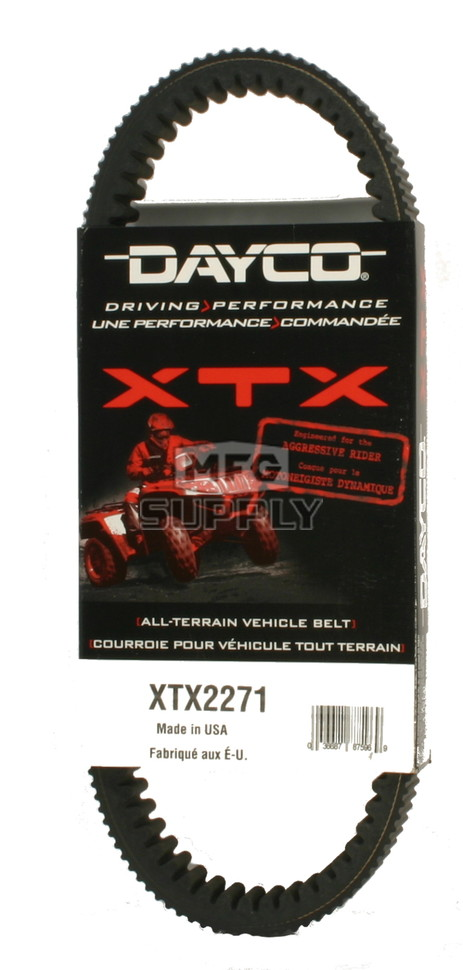 Dayco HPX2217 Performance Drive Belt 2011 2012 2013 2014 Yamaha Grizzly 350