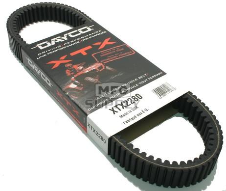 XTX2280 - Kawasaki Dayco XTX (Xtreme Torque) Belt. Fits many Kawasaki Mule Pro UTVs