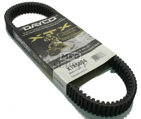 XTX5004 - Ski-Doo Dayco  XTX (Xtreme Torque) Belt. Fits 94-06 mid power Ski-Doo Snowmobiles
