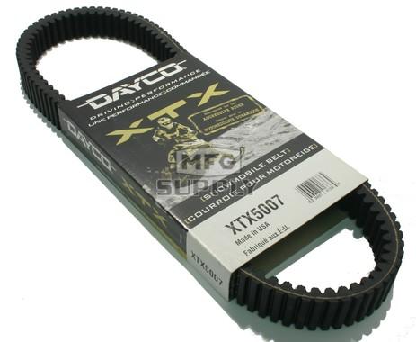 XTX5007 - Ski-Doo Dayco  XTX (Xtreme Torque) Belt. Fits many 83-06 mid power Ski-Doo Snowmobiles