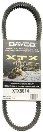 XTX5014 - Arctic Cat Dayco  XTX (Xtreme Torque) Belt. Fits 95-04 high powered Snowmobiles.