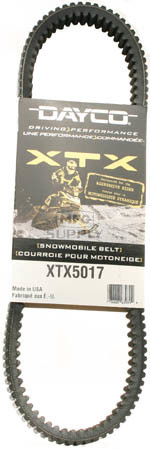 XTX5017 - Arctic Cat Dayco  XTX (Xtreme Torque) Belt. Fits 98 & newer mid to high power Arctic Cat Snowmobiles.