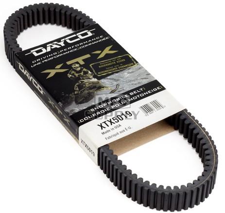 XTX5019 - Ski-Doo Dayco  XTX (Xtreme Torque) Belt. Fits 93-04 high power SkiDoo Snowmobiles.