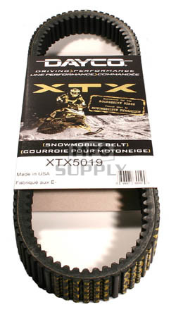 XTX5019 - Ski-Doo Dayco  XTX (Xtreme Torque) Belt. Fits 93-04 high power SkiDoo Snowmobiles.