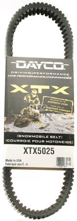 XTX5025 - Ski-Doo Dayco  XTX (Xtreme Torque) Belt for 03-06 High Performance Ski-Doo.
