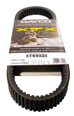 XTX5038 - Arctic Cat Dayco  XTX (Xtreme Torque) Belt. Fits 09-10 Z1 & TZ1 Turbo models.