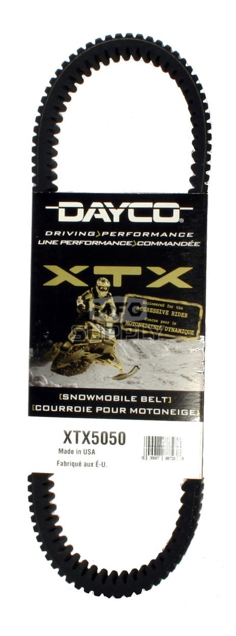 XTX5050 - Arctic Cat Dayco  XTX (Xtreme Torque) Belt. Fits most 2006 Arctic Cat Firecat Snowmobiles.
