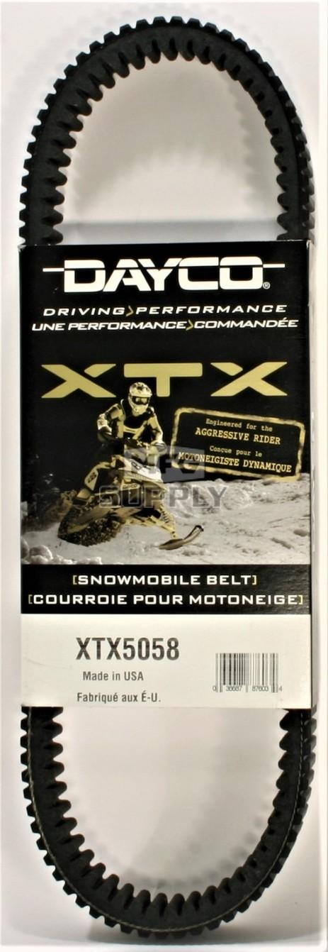 XTX5058 - Yamaha Dayco XTX (Xtreme Torque) Belt. Fits 2014 and newer SR Viper Snowmobiles.
