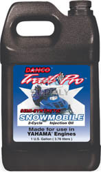 2406-Y1300 - Case of 6 gallons of Synthetic Blend for Yamaha Snowmobiles (actual shipping charges apply)