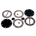 451455 - Mikuni Round Fuel Pump Repair Kit. All DF-52 dual & triple outlet pumps.