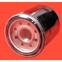 20-006-1-H3 - Chrome Spin-On Oil Filter for Kawasaki ATVs