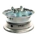 "AZ1037 - 6"" 2 piece Steel Wheel, 3-1/4"" wide, 5/8"" ID Bearing, flanged hub"