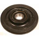 "04-0531-20 - Polaris 5.350"" (135mm) Black Idler Wheel with 6205 series bearing (25mm ID)"