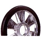 """04-116-87 - 7.500"""" OD Idler Wheel w/o bearing"""