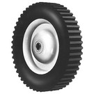 "6-279 - 8"" X 1.75"" Steel Wheel with 1/2"" ID Ball Bearing (Lug Tread)"