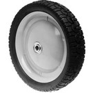 "6-8263 - 9"" X 1.625"" Snapper 22800 and Tru-Cut 52109 Steel Wheel with 7/16"" ID Bearing (Radial Tread)"