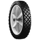 "7-2990 - 9"" X 1.75"" Snapper 14604, 12496 Plastic Wheel with 9/16"" X 7/16"" Oblong Hole"
