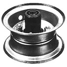 "8-371-H2 - 4"" Front Demountable Wheel Assembly"