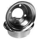"8-377-H2 - 4"" Rims Pair for 1 Wheel"
