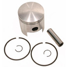 09-810-2 - OEM Style Piston Assembly, 71-72 Yamaha SL292. Single Cylinder. .020 oversized.