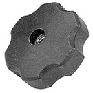 "10-10359 - Flanged Clamping Knob 3/8""-16 Female"